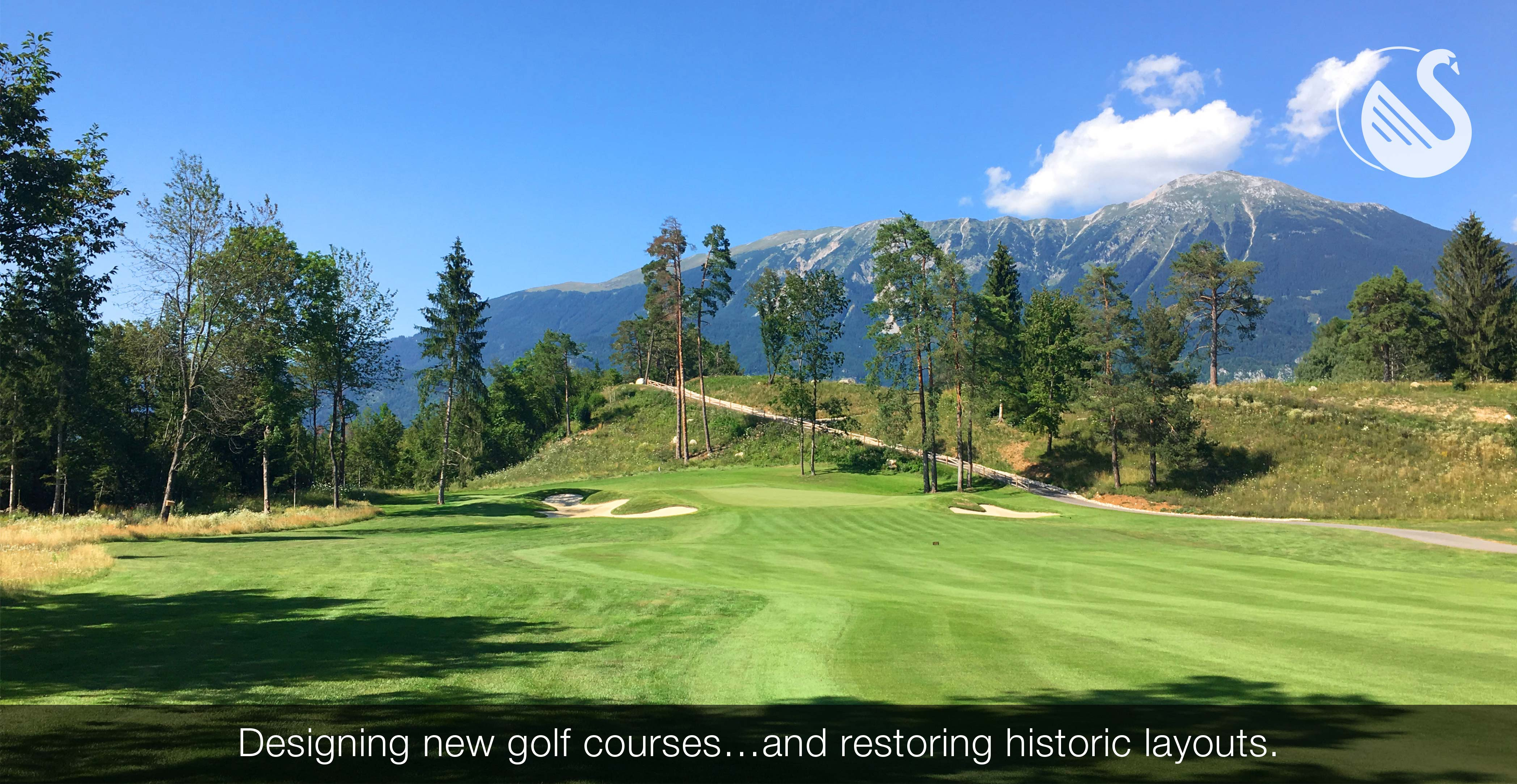 Designing new golf courses…and restoring historic layouts.