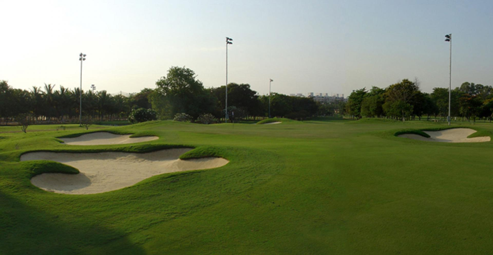 The shared green on 15 and 17 at KGA