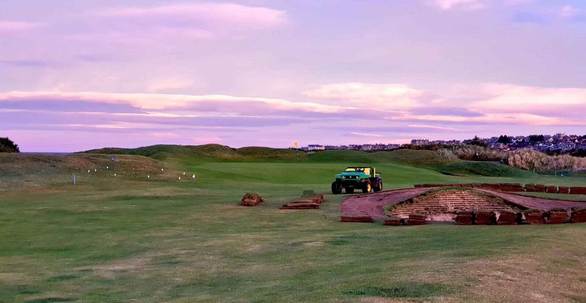 Moray Golf Club, Scotland