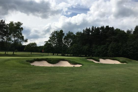 SGD designed bunkers at Huddersfield Golf Club